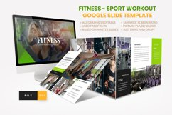 Sport - Fitness Business Workout Google Slide Template Product Image 1
