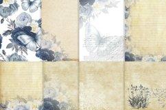 Journaling Scrapbooking Cardmaking Kit Blue Product Image 3