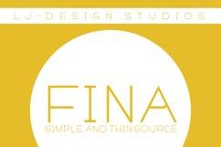 Fina Font Product Image 5
