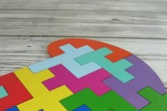 Educational jigsaw puzzle for children, Puzzle svg file Product Image 3