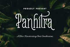 Panhitra Font Family Product Image 1