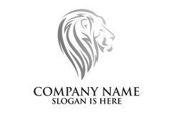 Lion logo design template ,Elegant lion head logo Product Image 5