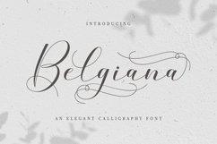 Belgiana Script Product Image 1