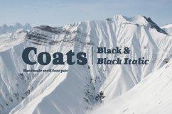 Coats Black & Coats Black Italic Product Image 1