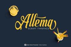 Allema Script Font Product Image 1