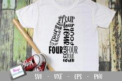 Number Bundle - 10 Milestone numbers - Word Art Product Image 5