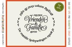 Vrienden & Familie - Mooiste Herinneringen Rond de Tafel SVG Product Image 1