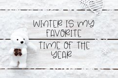 Hello Winter - A Quirky Hand-Lettered Font Product Image 4