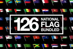 BUNDLE - National Flag Vector AI and CDR Sparkle Product Image 1