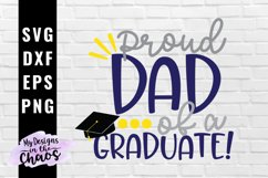 Graduation SVG EPS DXF PNG | Graduate Dad SVG Product Image 1