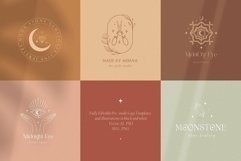 Mysterious Logos Collection. Fully editable Pre-made Logos. Product Image 4