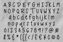Ankle Biter Print - a childlike handwriting font! Product Image 2