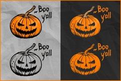 Halloween SVG, Pumpkin SVG, Jack O'Lantern clip art Product Image 2