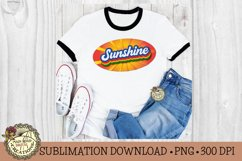 Retro Stacked Summer Sublimation-Vintage Sublimation Design Product Image 1