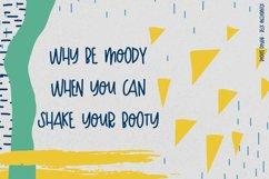 Boogie Down! Handlettered Sans Font Product Image 5