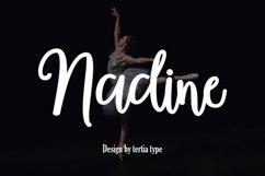 nadine script Product Image 1