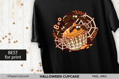 Halloween Cupcake PNG Sublimation PNG Halloween bats PNG Product Image 2