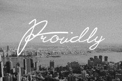 Proudly Signature Script Product Image 2
