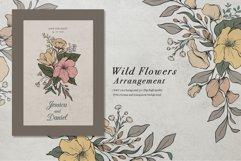 WILD FLOWERS Illustration Botanical Product Image 10