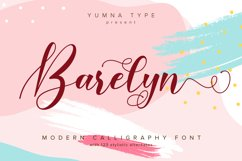 Barelyn Script Product Image 1