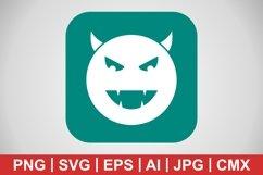 Vector Devil Icon Product Image 1