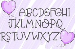 Balloon Butt Font Product Image 2