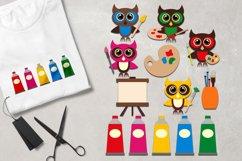 Owl back to school graphic illustrations Big Bundle Product Image 5