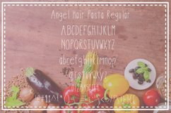 Angel Hair Pasta Font Trio Product Image 2