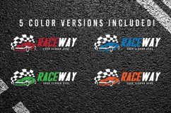Auto Race Car Logo Template Product Image 2