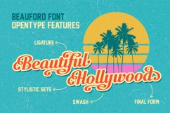 Beauford Font  Product Image 2