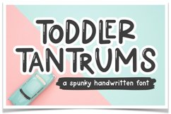 Toddler Tantrums Font Product Image 1