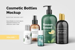 Cosmetic Bottles Mockup Vol.1 Product Image 1