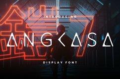 Angkasa Font Product Image 1