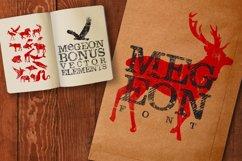 Megeon Font + Vector Bonus Product Image 2