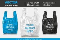 Vector Mockup Plastic Bag Product Image 1