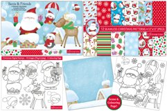 Christmas bundle, Christmas clipart graphics & illustrations Product Image 4
