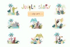 Childrens set with tropic forest Product Image 3
