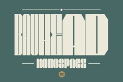 Bauhead Typeface | Font Product Image 1