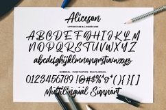 Aliceson - Modern Handlettering Product Image 5