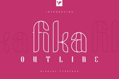 Fika Outline Product Image 1