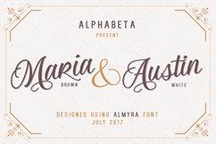 Almyra Script Product Image 1
