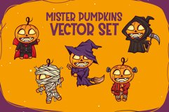 Mister Pumpkins | Bonus Vector Product Image 4