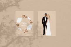 Wedding Collection. Modern Abstract Graphics. Product Image 5