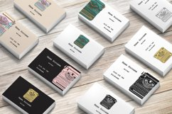 Business Cards with typewriters Product Image 6
