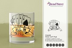 All in Gambling SVG | Poker SVG | Cards SVG Product Image 1