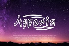 Agnezia - 5 Font styles and 150 Swashes Product Image 1