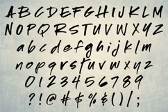 Saboteur - a moody, inky font Product Image 2