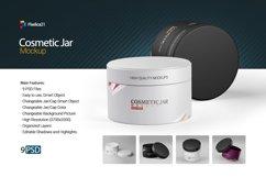 Cosmetic Jar Mockup Product Image 1