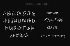 Heathers Handwritten Brush Font Product Image 2