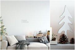 Christmas Wall Mockups Product Image 5